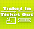 Ticket In Ticket Out Icon